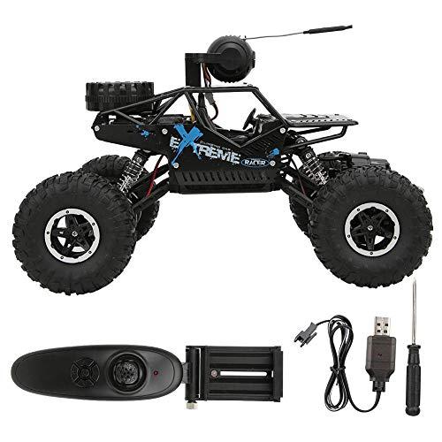 Qinlorgo 2,4 G 4-Kanal-Fernbedienung Klettern Auto Kinder Spielzeug mit WiFi-Kamera