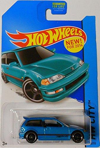 Hot Wheels 1990 honda civic EF new for 2014 Hw city 30/250 by Hot Wheels