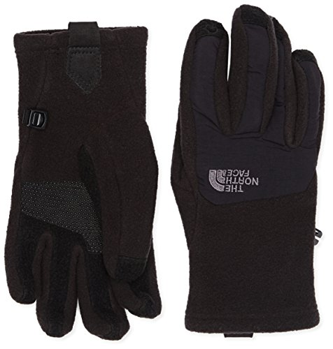The North Face Damen Handschuhe W Denali Etip Gloves Tnf Black, L Denali Fleece
