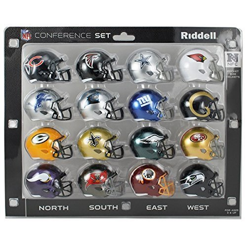 Riddell NFL Speed Pocket AFC & NFC Packungen - NFC
