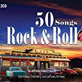 2 CD 50 Canzoni Rock and Roll. 50 Hits Originali di Chuck Berry, Elvis Presley, Jarry Lee Lewis, Fats Domino