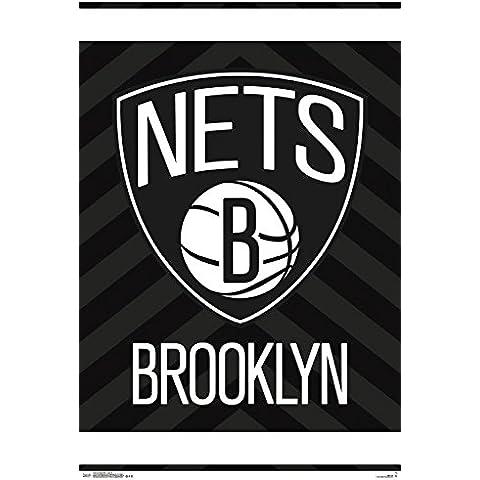 NBA __-_con Logo dei Brooklyn Nets, colore: