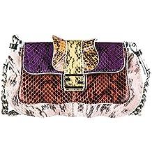 Fendi bolsos con asas largas para compras mujer en piel nuevo micro baguette ela