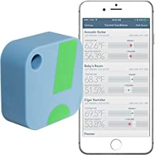 Termómetro / Higrómetro Inalámbrico SensorPush para iPhone /Android – Sensor Inteligente de Humedad y Temperatura con Alarmas