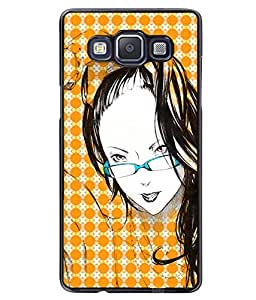 Printvisa 2D Printed Girly Designer back case cover for Samsung Galaxy A5 SM - A500F - D4575