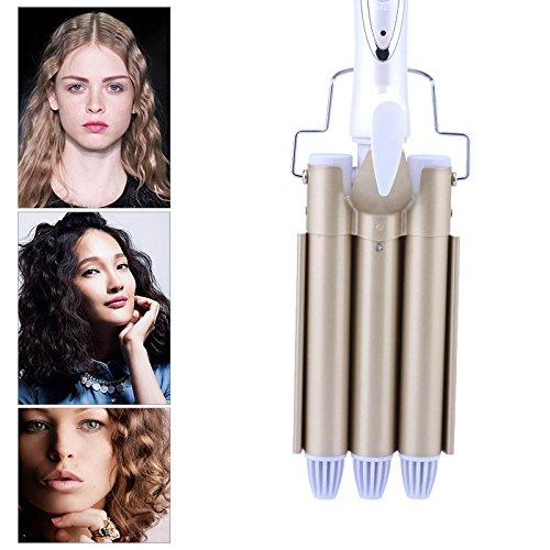 Shuangklei Tourmaline Keramik Haar Lockenstab Große Waver Lockenstab Magic Professional Hair Locken Salon Hair Styling Tool -