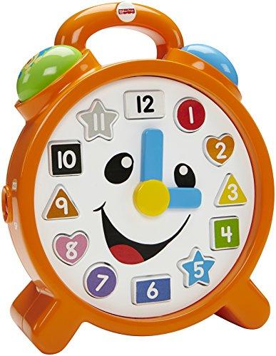 Mattel CDK08 Fisher-Price - Lernspaß Uhr