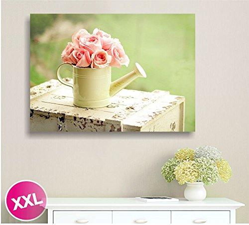 rose-vintage-10-quadro-moderno-su-tela-gia-intelaiato-100x70-cm-quadri-arredamento-shabby-chic-prove