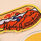 9 piezas Patch Sticker, parches bordados, Parches ropa Termoadhesivos, Parches ropa, Parches bordados cosidos, insignia de pa
