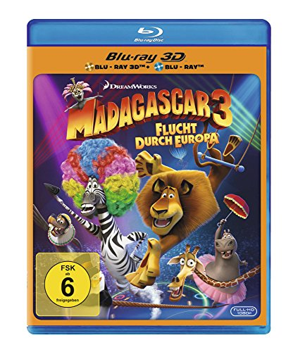 Madagascar 3: Flucht durch Europa (+ Blu-ray 2D) [Blu-ray 3D] Preisvergleich
