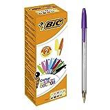 BIC Cristal 926381 penne multicolore, colori assortiti