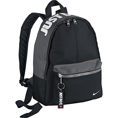 Nike Young Athletes Classic Ba Mochila, Niños, Negro / Gris / Blanco, Talla Única
