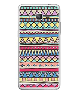 PrintVisa Designer Back Case Cover for Samsung Galaxy J7 2015 (Jaipur Rajasthan Tribal Azitec Mobiles Indian Traditional Wooden)