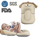 Alfombrilla para bañera de bebé, de 0 a 6 meses, de malla antideslizante, colchón flotante