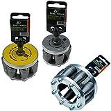 GETMORE Parts Rohraufweiter, 3er-Set SDS-Plus, Muffenzieher, 3 Verschiedene Aufweiter für Rohre (DN 60 + DN 80 + DN 100)