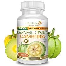 Garcinia Cambogia PURA (1 mes): suplemento en cápsulas para perder peso, que actúa RÁPIDAMENTE sobre el METABOLISMO, quita el hambre y tiene un efecto QUEMA GRASA POTENTE. Ingredientes naturales, y de ALTA CALIDAD.