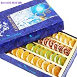 Ghasitaram Gifts Diwali Gifts Diwali Sweets - Assorted Moons Box 400 Gms