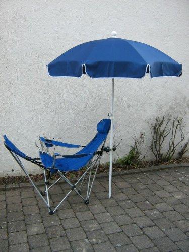Parasol Polyester 250 cm - 10 pièces Couleur Bleu Marine - Innovations fabriqué en Allemagne - Holly® Produits Stabielo Holly Sunshade - dans Le Prix de Partie - Frais d'Expédition