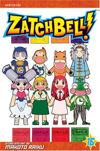 Zatch Bell!, Vol. 16 (Zatch Bell (Graphic Novels), Band 16)