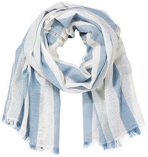 Edc by Esprit Accessoires 077ca1q008 Bufanda, Azul Blue 430, Talla única para Mujer