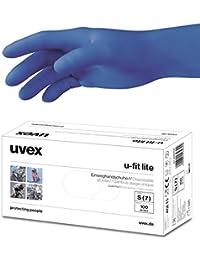 100 Stück uvex u-fit lite puderfreie Nitril Einweghandschuhe für Mediziner und Laboranten - Untersuchungshandschuhe Einmalhandschuhe Handschuhe