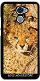 Lovelycasestore Funda Carcasa Cover para Huawei Y7 Prime - Leopard Spots Cachorro De Animales Naturaleza La Fauna