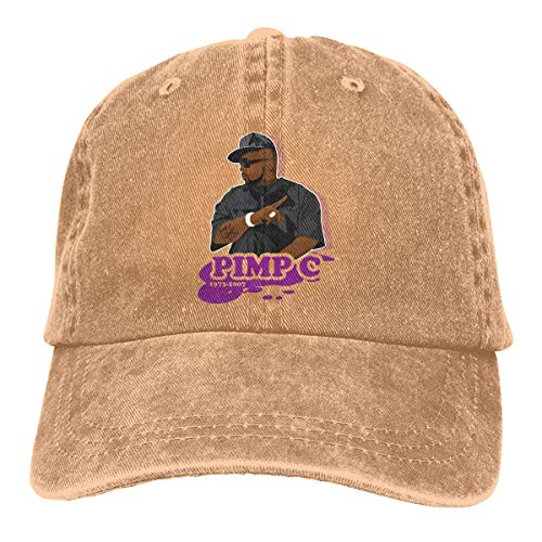 Pimp Cap (Basecap Snapback Outdoor Baseball Kappe Jeans Hat Chad Pimp C Butler Painting Lightweight Breathable Soft Baseball Cap Sports Cap Adult Trucker Hat Mesh Cap)