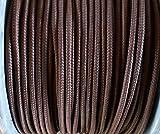 Rolladenschnur 5m Nylonschnur braun- dunkelbraun 4,5mm Schnurzug Schnurwickler
