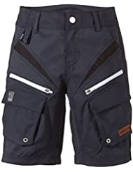 Maloja - Pantalón infantil, talla M, color azul oscuro