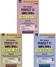 APC Perfect 15 Sample Papers Accountancy + Economics + Business Studies (Class XII-CBSE)-For 2021 Board Examin
