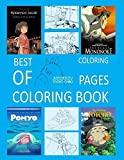 Best of Studio Ghibli Coloring Pages Coloring Book