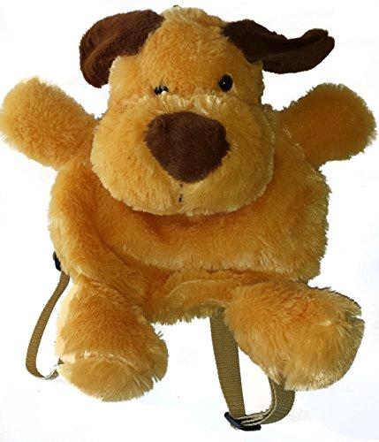 PANGIFRIENDZ Rucksack Plüsch Plüschtier Kinderrucksack Plüschrucksack Tasche HUND ENTE HASE (Karotte Kostüm Hunde)