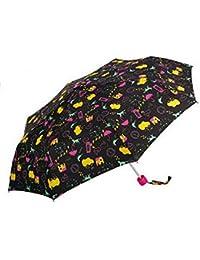 Paraguas Plegable Girl negro
