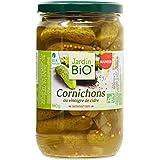 Jardin Bio Cornichons au Vinaigre de Cidre 660 g - Lot de 3