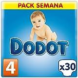 Dodot - Pañales para bebé, talla 4 - 30 pañales