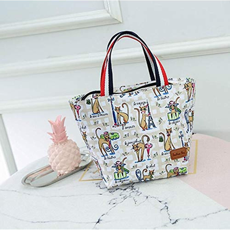 57df28ea3c WWUUOOPRT Sac de Pique-Nique Nouveau Sac de boîte boîte  boîte à Lunch Isolant pour Femme Petit modèle (Chat)    Beau Design ...