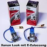 Lima - Bombillas halógenas (2 unidades, aspecto xenón, 12 V), color blanco, blanco xenon 55.0 wattsW