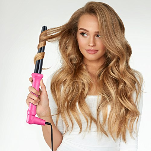 Golden Curl Lockenstab Hair Curler GL506 – langanhaltende Locken für alle Haartypen – unglaubliche 5-Jahres Garantie (18mm – 25mm, Pink) - 7