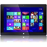 """10"""" Fusion5® Windows Tablet PC - Touch Screen - Now in Windows 10 - Intel Baytrail-T CR (Quad-core) Z3735F - 1GB DDR3 - 16GB ROM, Dual Camera - Bluetooth - Slim Tablet PC (10"""" IPS (1280*800))"""