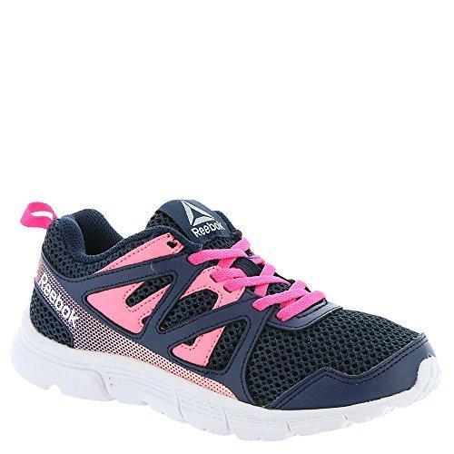 Reebok Run Supreme 2.0 Girls' Toddler-Youth Running 11.5 M US Little Kid Navy-Ink-Solar Pink-Pink (Reebok Basketball Kid Schuhe)