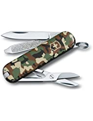 Victorinox - Couteau Suisse Victorinox Classic SD 0.6223.94 Camouflage - 7 Fonctions