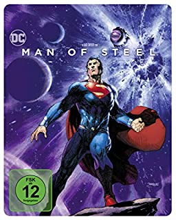 Man of Steel als Steelbook mit Illustrated Artwork (Limited Edition exklusiv bei Amazon.de) [Blu-ray]