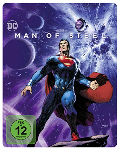 Man of Steel Illustrated Artwork - Steelbook (exklusiv bei Amazon.de) [Blu-ray] [Limited Edition]