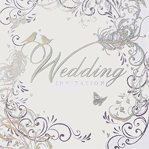 Simon Elvin Hochzeitseinladungen, Karten und Umschläge, 6 Stück