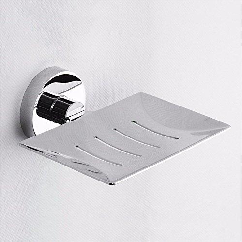 LOSTRYY Badezimmer Edelstahl Wand - Soap Box montiert (Handtuchhalter Montiert Gericht Wand)