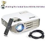 Vidéoprojecteur, Abask 1080P HD 3100 Lumens LCD Portable Théâtre...