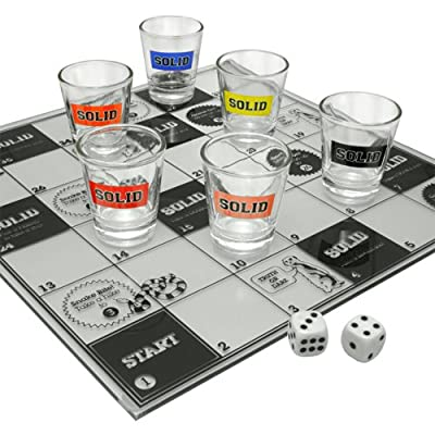 Solid - 42043 - Jeux De Société - Snakes And Staggered Drinking Game