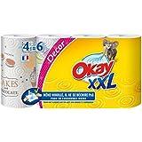 Okay XXL - Essuie-Tout Décors x 4 Rouleaux - Lot de 2