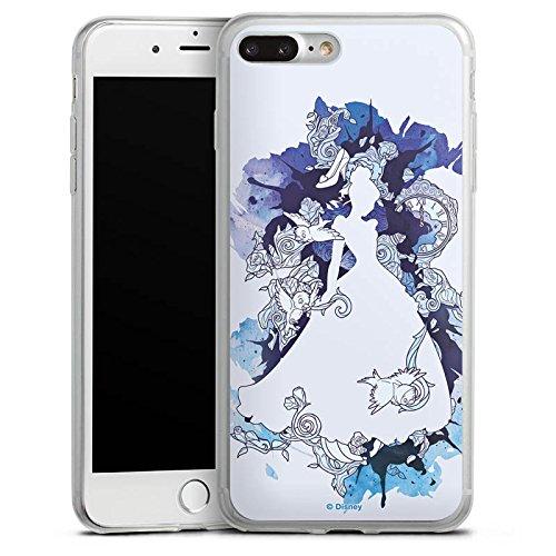 Apple iPhone 6 Slim Case Silikon Hülle Schutzhülle Disney Cinderella Prinzessin Silikon Slim Case transparent