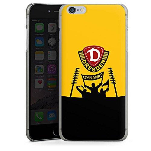Apple iPhone 6 Plus Hülle Case Handyhülle Dynamo Dresden Fanartikel Bundesliga Fußball Hard Case anthrazit-klar